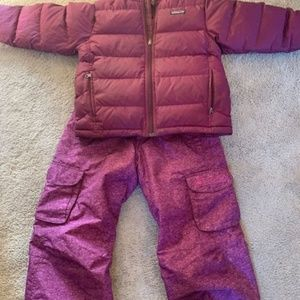 Girl's Snowboard Ski pants (large 10-12)